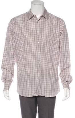 Prada Plaid Dress Shirt w/ Tags