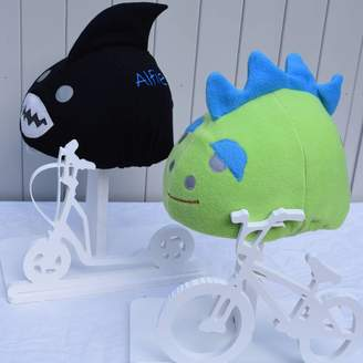 Equipment The Happy Headbangers Club Child's Shark Hi Vis Helmet Cover