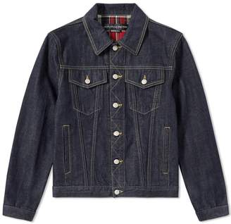 Alexander McQueen Japanese Heavy Denim Jacket