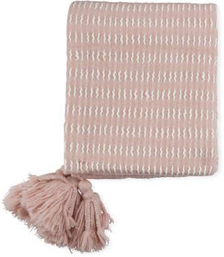 Magaschoni Throw Blanket w\/ Tassels