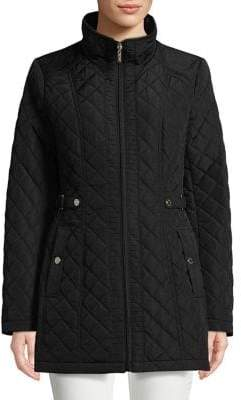Gallery Full-Zip Quilted Jacket
