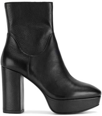 Ash platform ankle boots