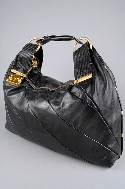 Juicy Couture Gossip Lock Leather Bag