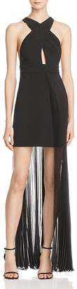 AQ/AQ Ailla Pleated Overlay Dress $250 thestylecure.com