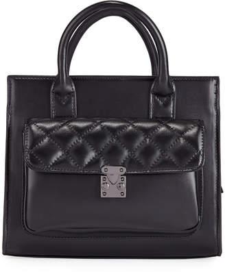 Jagger Kc Cynthia Medium Leather Top-Handle Bag