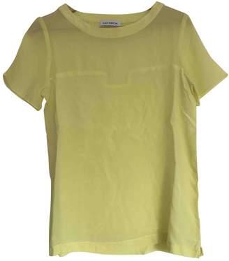 Gat Rimon Yellow Silk Top for Women