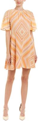 Valentino Silk A-Line Dress