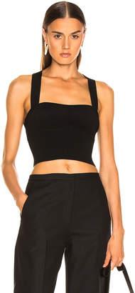 KHAITE Kiki Bralette Top in Black | FWRD