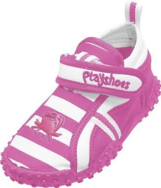 Playshoes Girls UV Protection Aqua Shoes Crab, 174782, Pink