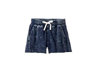 Splendid Littles Baby French Terry Mineral Wash Shorts (Big Kids)