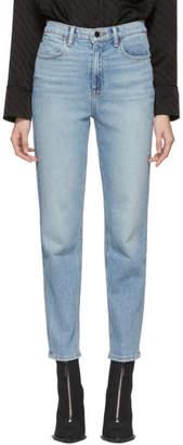 Alexander Wang Indigo Wake Flex Jeans