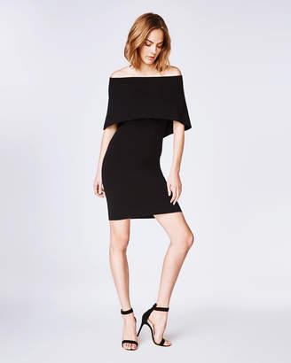 Nicole Miller Jersey Cape Dress
