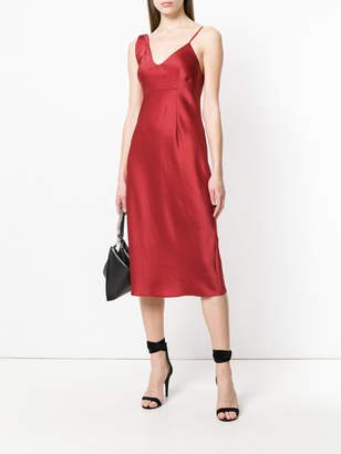 Alexander Wang Asymmetric slip dress