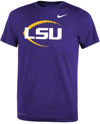 Nike Lsu Tigers Legend Icon Football T-Shirt, Big Boys (8-20)
