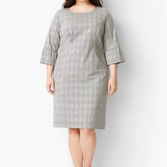 Talbots Glen Plaid Sheath Dress
