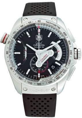 Tag Heuer Men's CAV5115.FT6019 Grand Carrera Automatic Chronograph Dial Watch