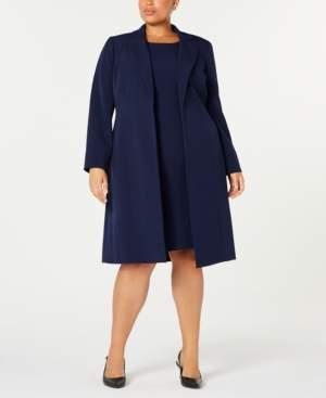 Le Suit Plus Size Notched-Collar Jacket & Dress Suit