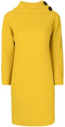 DAY Birger et Mikkelsen Antonelli funnel neck mini dress