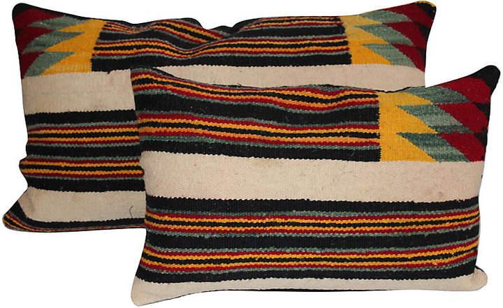 Native American Weaving Pillows