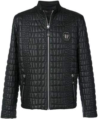 Philipp Plein Cocoa Feel jacket
