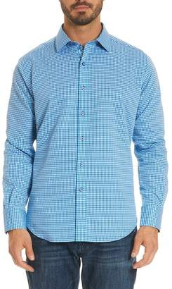 Robert Graham Bosch Tailored Fit Microcheck Sport Shirt