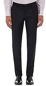 Incotex Men's S-Body Slim-Fit Wool Trousers-Navy