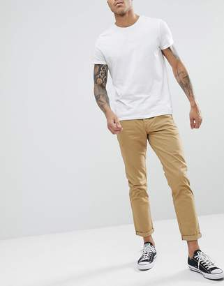 Solid Chino In Tan