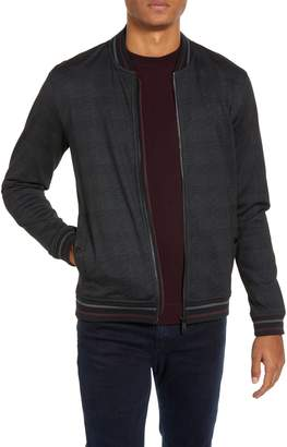 Ted Baker Tootie Slim Check Bomber Jacket