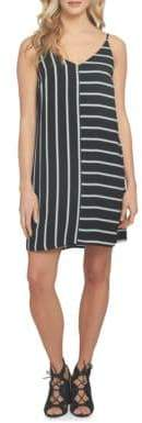 1 STATE 1.STATE At Leisure Striped Shift Dress