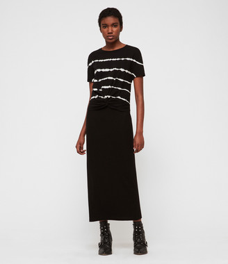 AllSaints Rina Maxi Skirt