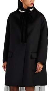 Women's 2-In-1 Wool-Blend Coat - Black