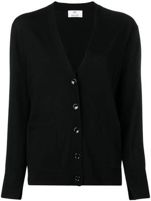 Allude straight-fit cardigan