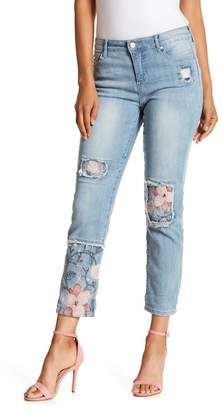 Nine West Astor Cropped Boyfriend Jeans