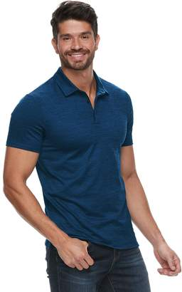 Marc Anthony Men's Slim-Fit Jacquard Polo
