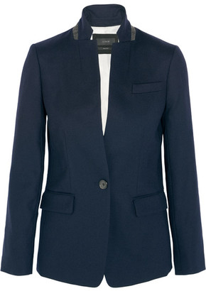J.Crew - Regent Stretch-wool Blazer - Navy $200 thestylecure.com