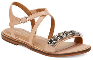 Enzo Angiolini Jewelana Slide Sandals $99 thestylecure.com
