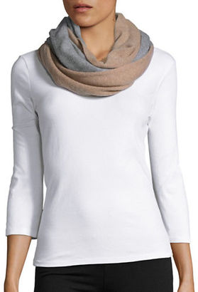 Lord & Taylor Colorblocked Cashmere Scarf $118 thestylecure.com