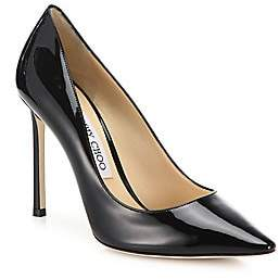 Jimmy Choo Women's Romy Patent Leather Point Toe Pumps