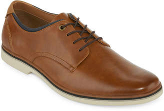 Jf J.Ferrar Mens Thaddeus Oxford Shoes Lace-up