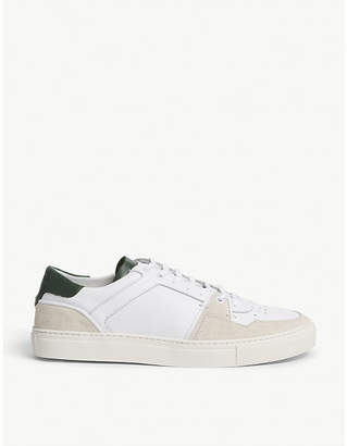 The Kooples Suede and leather trainers