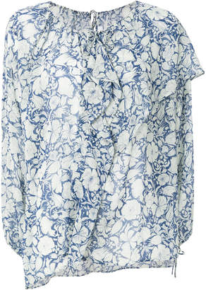 Christian Wijnants long sleeve floral blouse