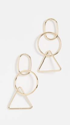 Jules Smith Designs Geolectic Hoop Earrings