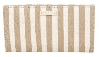 Kate Spade Kate Spade New York Canvas Striped Wallet