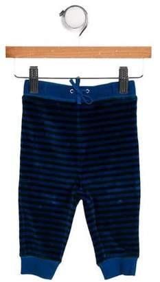 Burberry Boys' Striped Velvet Bottoms