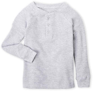 N. French Toast (Boys 4-7) Thermal Henley