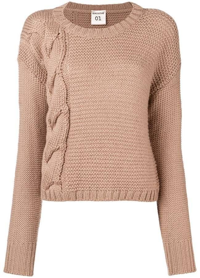 Semicouture knitted jumper