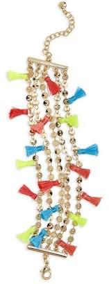 BaubleBar Rica Chain & Tassel Bracelet