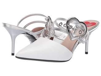 2e2b53c5026 Love Moschino Mule Heel with Heart Buckle