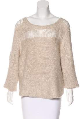 Raquel Allegra Long Sleeve Knit Sweater