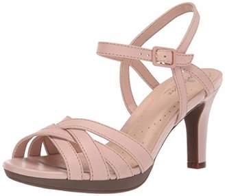 Clarks Women's Adriel Wavy Heeled Sandal 070 M US